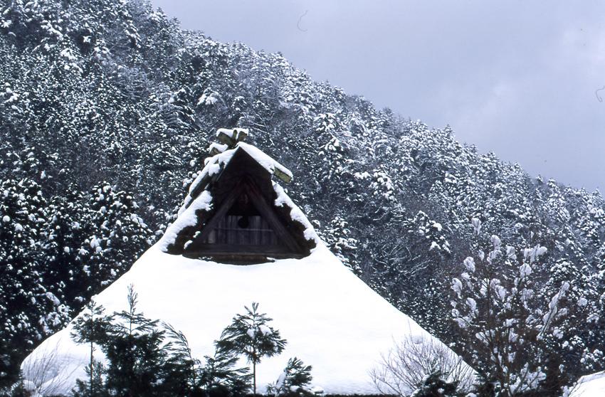 雪の美山02