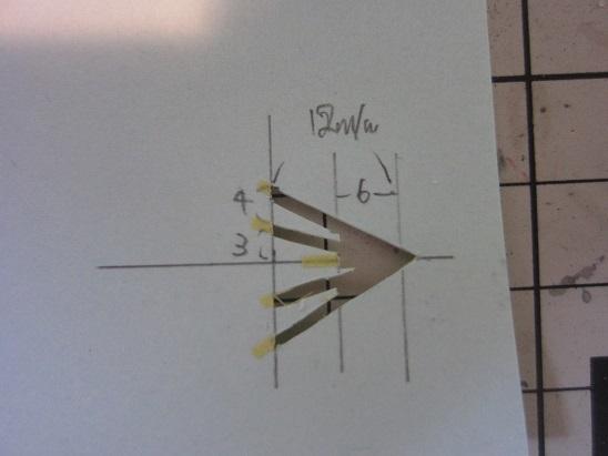 飛行甲板矢印