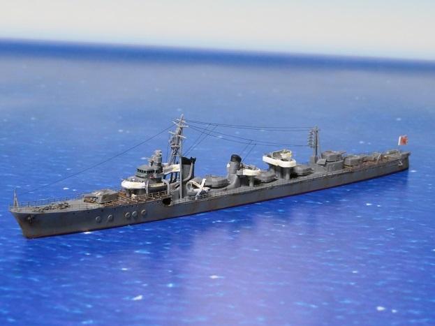 タミヤ製駆逐艦島風