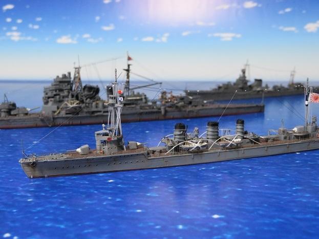 天竜と第八艦隊旗艦