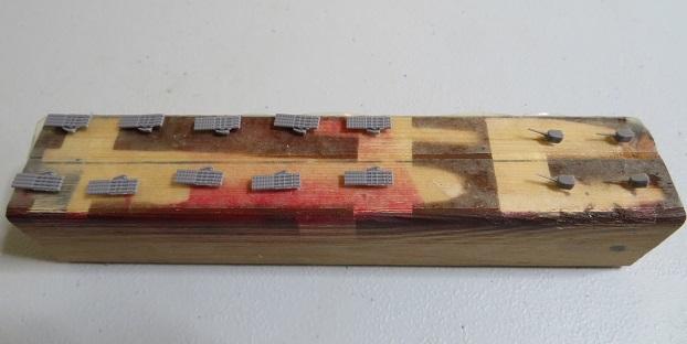 4連装魚雷発射管10基
