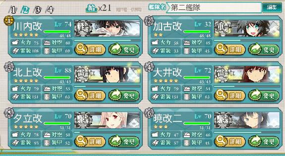 第二艦隊随伴部隊