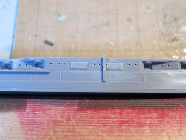長門側面魚雷発射管
