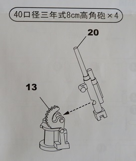 8cm高角砲