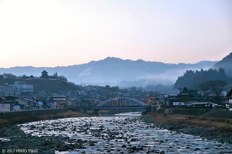 絶景探しの旅 - 0092 奥飛騨の城下町の朝 (岐阜県 飛騨市)
