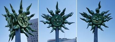 岡本太郎「太陽」