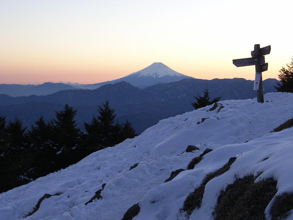 富士山・冬