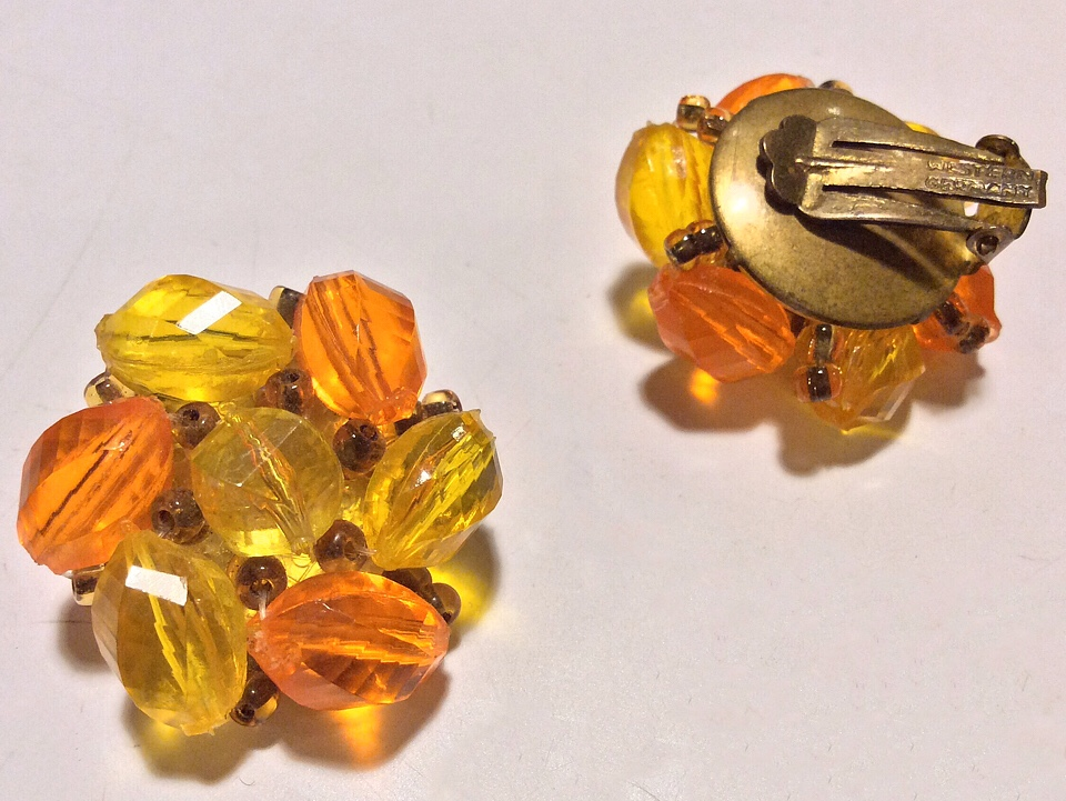 VintageOrangeYellowBeadsEarrings.jpg