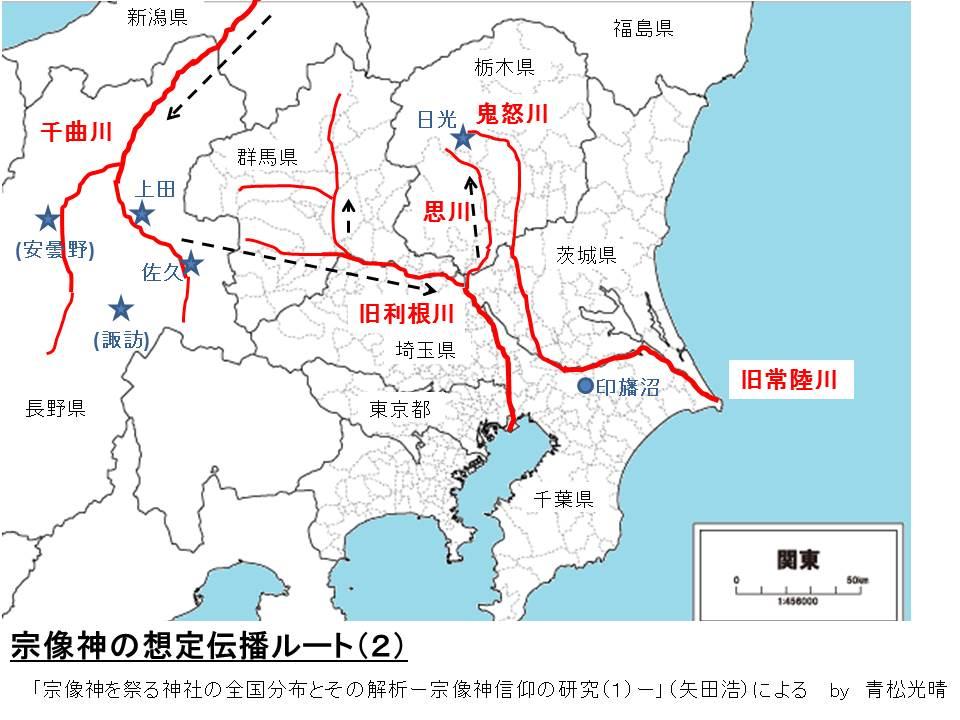 関東宗像神伝播ルート2