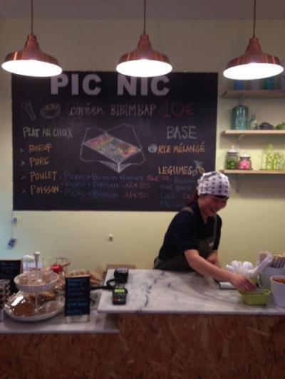 PICNIC はパリ10区の韓国お弁当ランチ