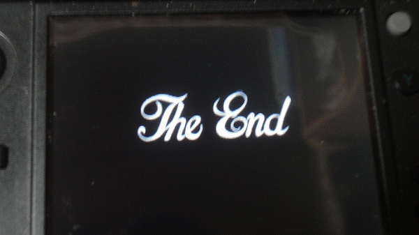 やっと終わった。