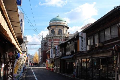 0019:西本願寺伝道院 門前通りから