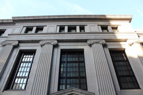 0183:三井住友銀行大阪中央支店 高麗橋通側のオーダー