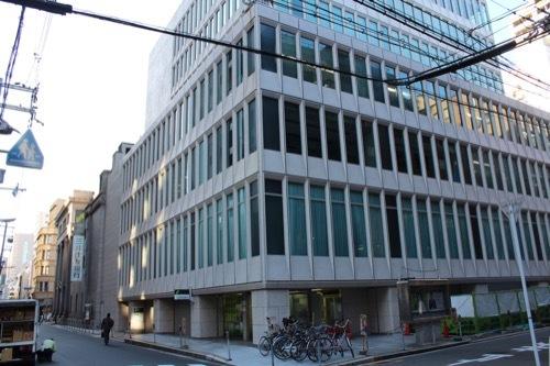 0183:三井住友銀行大阪中央支店 ビル棟ファサード①