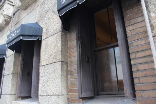 0189:芝川ビル 防火用の鉄扉