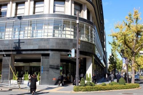 0192:大阪ガスビル 地上空間の様子①