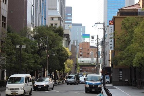 0193:大阪倶楽部 御堂筋からの眺め