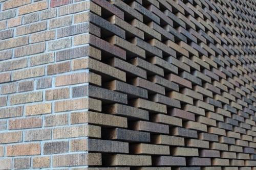 0196:ダイビル本館 南側の新調煉瓦②