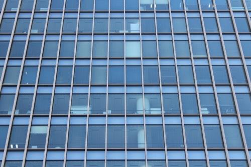 0196:ダイビル本館 高層部のガラスファサード