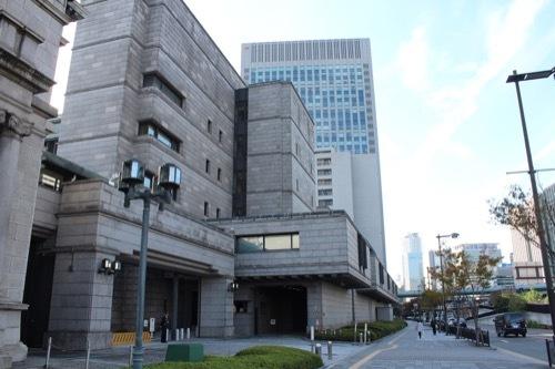 0198:日本銀行大阪支店 新館の様子⑦