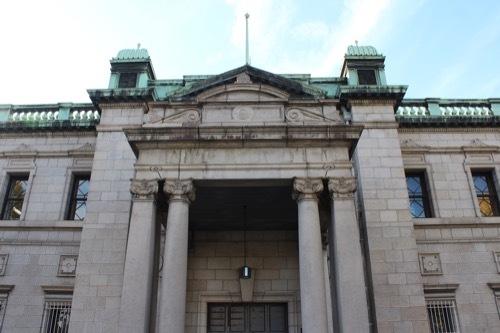0198:日本銀行大阪支店 旧館正面外観②