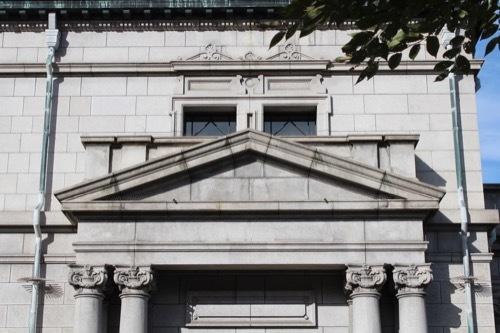 0198:日本銀行大阪支店 旧館側部外観②