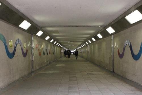 0200:梅田スカイビル 北ヤード横断地下道②