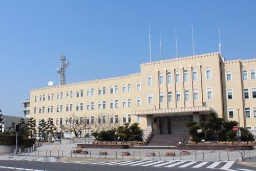 0201:和歌山県本庁舎 正面から①