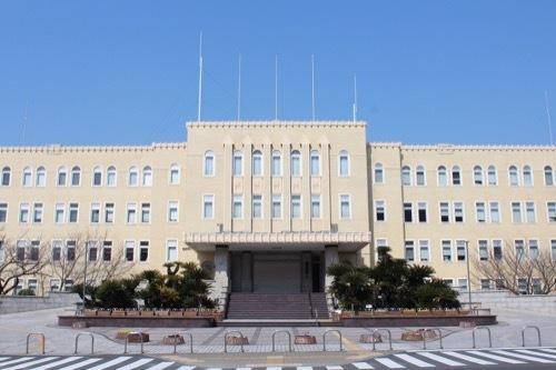 0201:和歌山県本庁舎 正面から②