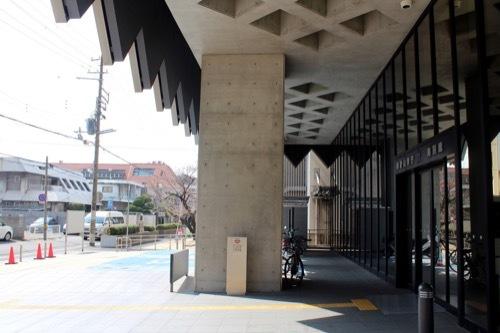 0202:和歌山県庁南別館 正面スペース③