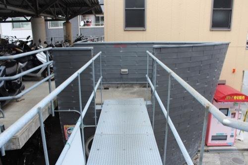 0204:Cyclestation米原 2階の通路