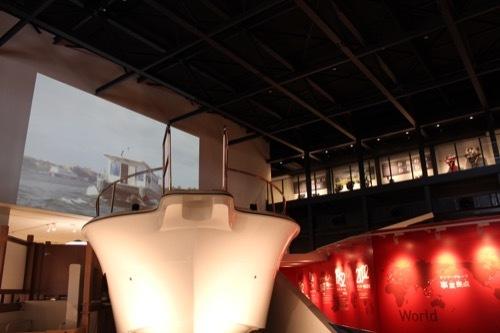 0205:ヤンマーミュージアム 展示室の様子②
