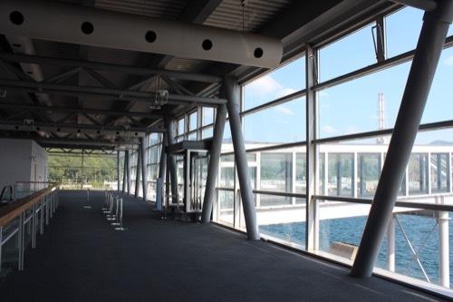 0207:新日本海敦賀ターミナル フェリー入口の様子
