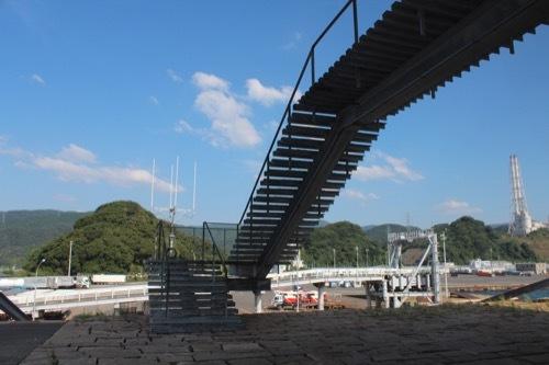 0207:新日本海敦賀ターミナル 野外階段