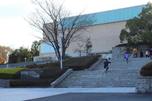 0208:三重県立美術館 階段アプローチ