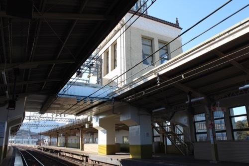 0209:近鉄宇治山田駅舎 塔屋①