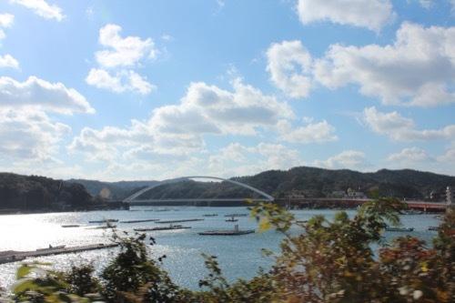 0210:海の博物館 リアス式海岸の風景
