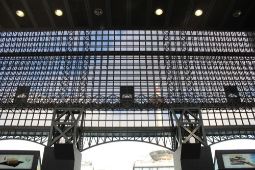 0211:JR京都駅ビル ガラス屋根③
