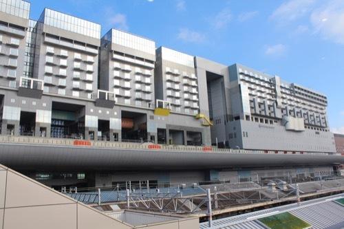 0211:JR京都駅ビル 在来線ホームから②