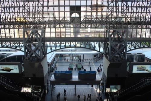 0211:JR京都駅ビル コンコースを見下ろす