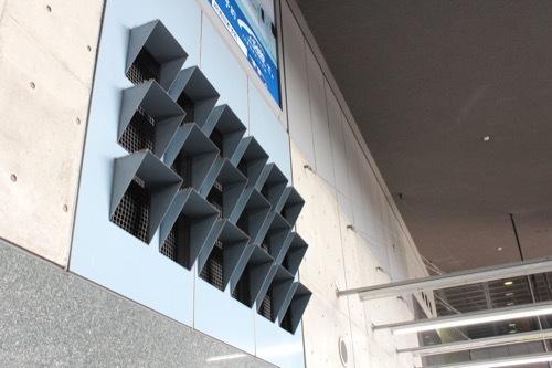 0211:JR京都駅ビル 通気口のデザイン