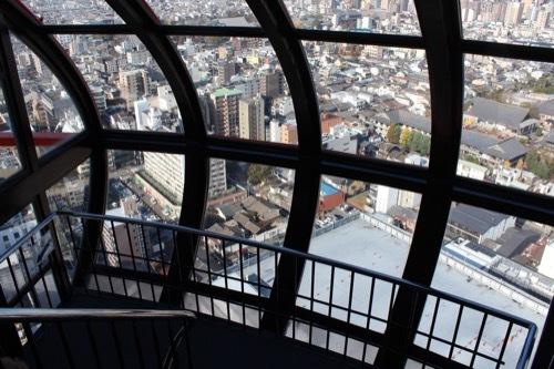 0212:京都タワー 展望室4・5階の階段②
