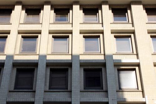 0213:関電京都支店 玄関から真上を見る②