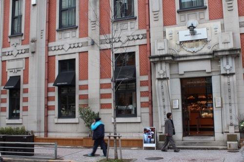 0217:旧北國銀行京都支店 入口デザイン①