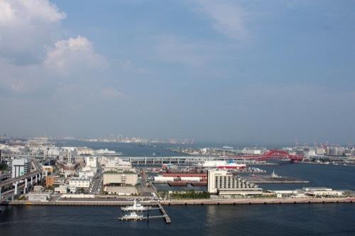 0223: 神戸ポートタワー 展望からの眺め