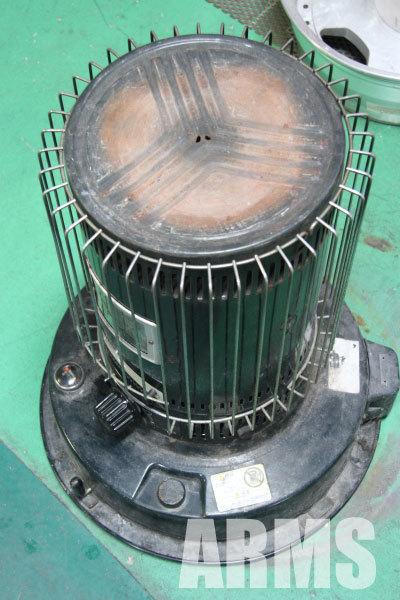 トヨトミ 石油ストーブ 芯の交換