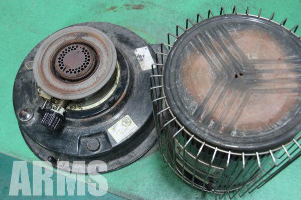 トヨトミ 石油ストーブ 芯の交換 2