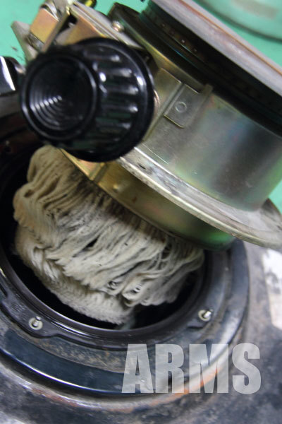 トヨトミ 石油ストーブ 芯の交換 4