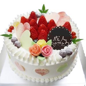 祝成人お祝ケーキ