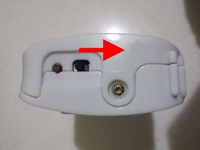 NEC 無線 LAN ルーター (Wi-Fi ルーター) AtermWR8165N (ST モデル) PA-WR8165N-ST 底面 ルーター/ブリッジモード 切替スイッチ、リセットボタン。ルーターからブリッジに変更